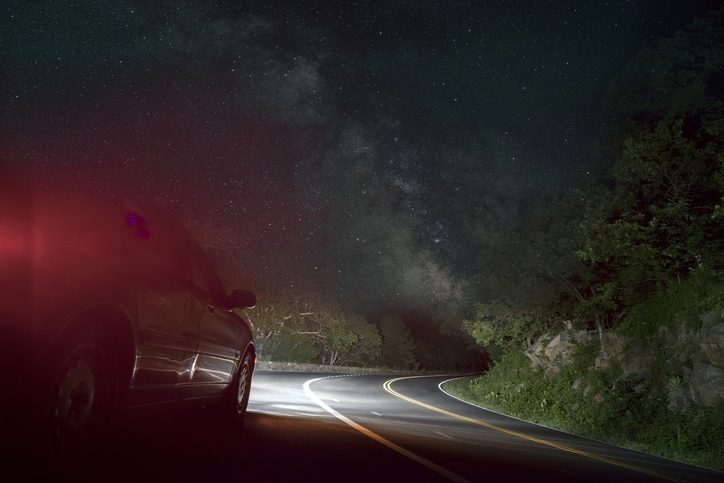 Burnette & Payne Attorneys at Law   Rock Hill, SC   car on winding road under starry sky